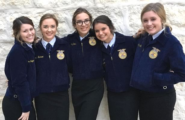 FHS FFA Agricultural Team Wins District