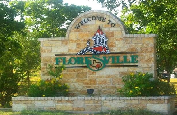 City of Floresville Welcome Sign